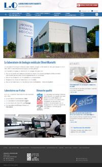 site internet labo-olivot.fr